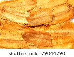 background of dry squid  and... | Shutterstock . vector #79044790