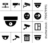 looking icons. set of 13... | Shutterstock .eps vector #790479991