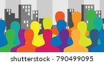 vector illustration of... | Shutterstock .eps vector #790499095