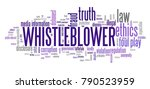 whistleblower   company law... | Shutterstock . vector #790523959