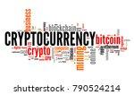 cryptocurrency   digital... | Shutterstock . vector #790524214