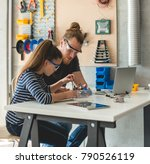 science and technology | Shutterstock . vector #790526119