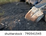 shovels are placed after not... | Shutterstock . vector #790541545