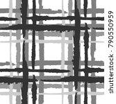 tartan. seamless grunge pattern ... | Shutterstock .eps vector #790550959