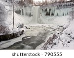minnehaha falls  minneapolis ... | Shutterstock . vector #790555