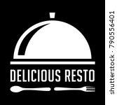 food restaurant badge and logo   Shutterstock .eps vector #790556401