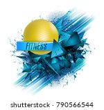 abstract background  text...   Shutterstock .eps vector #790566544