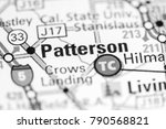 patterson. california. usa on a ... | Shutterstock . vector #790568821