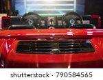 racing simulator game in theme... | Shutterstock . vector #790584565