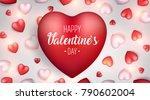 valentine's day background....   Shutterstock .eps vector #790602004