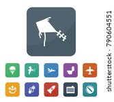 air icons. vector collection... | Shutterstock .eps vector #790604551