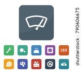 technology icons. vector... | Shutterstock .eps vector #790606675