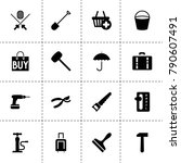 handle icons. vector collection ...