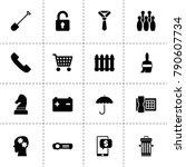 button icons. vector collection ...