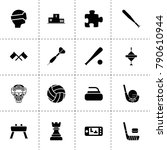 game icons. vector collection...