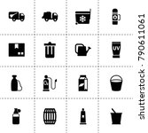 container icons. vector...