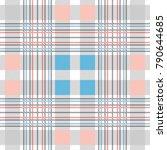 symmetric checkered print.... | Shutterstock .eps vector #790644685