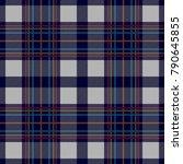 symmetric dark checkered print. ... | Shutterstock .eps vector #790645855