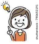 senior women  ideas | Shutterstock .eps vector #790652191