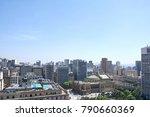 municipal theater in sao paulo... | Shutterstock . vector #790660369