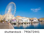old port in marseille  provence ... | Shutterstock . vector #790672441