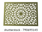 ornament gate 3d rendering | Shutterstock . vector #790695145