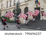 bucharest  romania   may 30 ... | Shutterstock . vector #790696237
