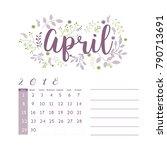 flower design for month ...   Shutterstock .eps vector #790713691
