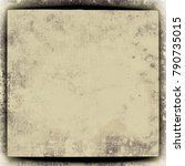 texture beige grunge | Shutterstock . vector #790735015