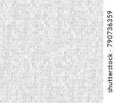 grunge black white. monochrome... | Shutterstock . vector #790736359