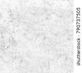 grunge black white. abstract... | Shutterstock . vector #790737505