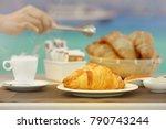 delicious bakery. menu for... | Shutterstock . vector #790743244