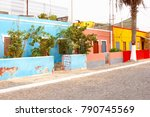 Bright Color Houses In...