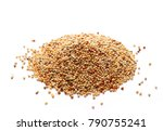 Pile Mixed Bird Seed Isolated...
