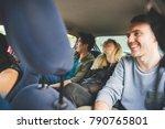 group of friends multiethnic... | Shutterstock . vector #790765801