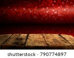 valentine day background of... | Shutterstock . vector #790774897