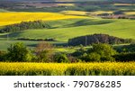 green summer landscape scenic... | Shutterstock . vector #790786285