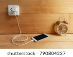 plug in power outlet adapter... | Shutterstock . vector #790804237