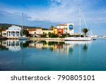 alacati  turkey   january 09 ... | Shutterstock . vector #790805101