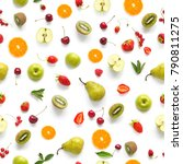 Food Texture. Seamless Pattern...