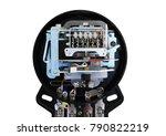 obsolete electric energy meter... | Shutterstock . vector #790822219