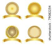 set of design elements. vector... | Shutterstock .eps vector #79082254