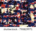 abstract vector background....   Shutterstock .eps vector #790829971