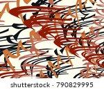 abstract vector background....   Shutterstock .eps vector #790829995