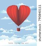 heart love romantic valentine... | Shutterstock .eps vector #790840111