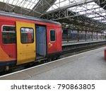 railway station  crewe  england   Shutterstock . vector #790863805