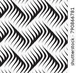 vector seamless texture. modern ...   Shutterstock .eps vector #790866781