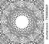 coloring page for adults. a... | Shutterstock .eps vector #790880869