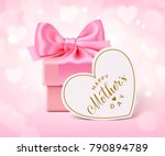 happy mother's day. holiday... | Shutterstock .eps vector #790894789