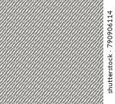 rough woolen cloth with oblique ... | Shutterstock .eps vector #790906114